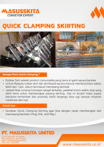 quick clamping skirting masusskita