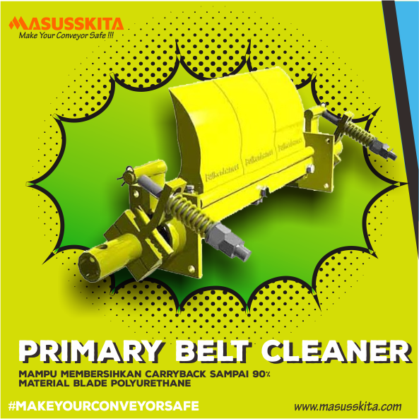 distributor primary belt cleaner indonesia