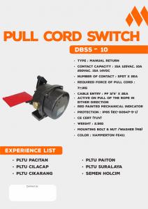 Pull Cord DBSS-10