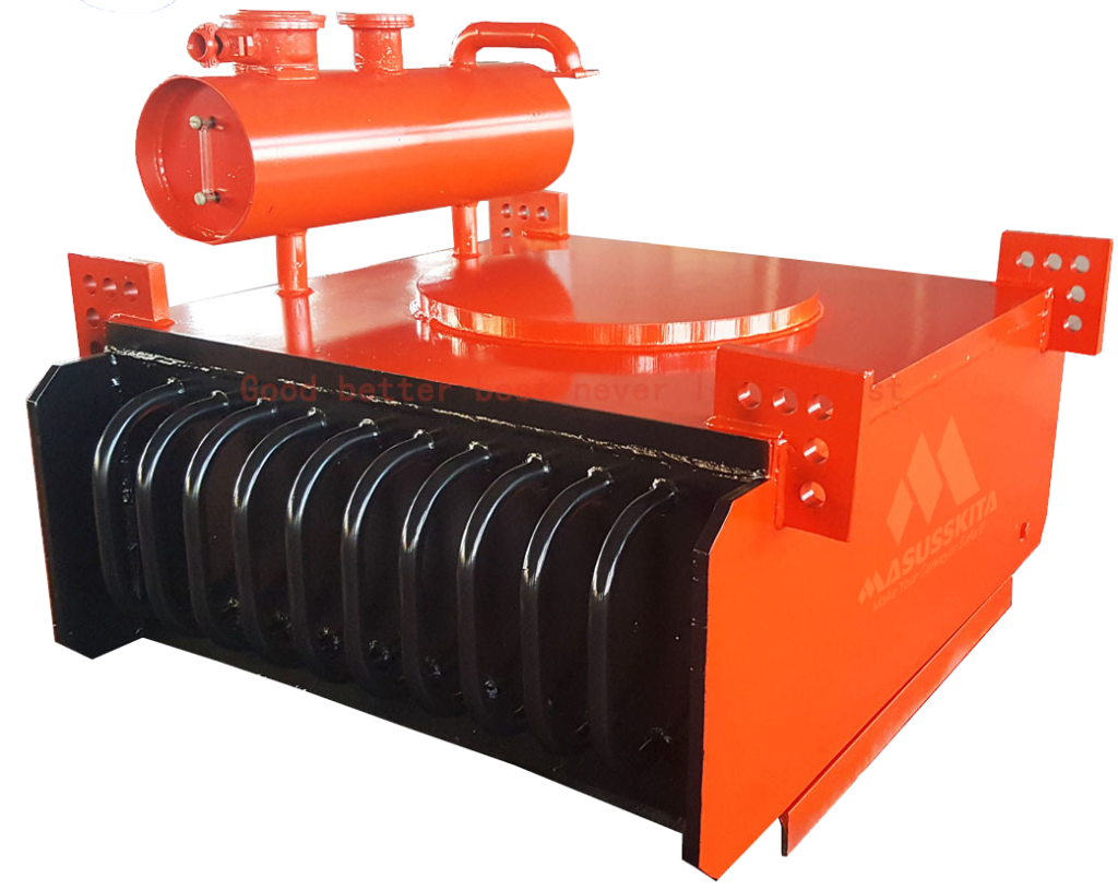 Rcde-6-5-Suspended-Oil-Cooling-Electro-Magnetic-Separator-Magnet-for-Sawdust-and-Woodchips-Material-Manufacturer-From-Mining-Machine-Factory